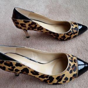 Antonio Melani Leopard Print Heels